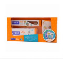 Vitis Kids Gel Dentifrico + Cepillo + Cartas Farmacias Buzo