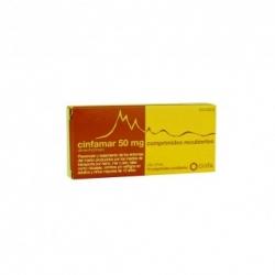 Cinfamar 50 Mg 10 comprimidos rec