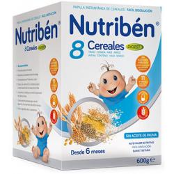 Nutribén 8 Cereales Digest 600 g buzo farmacia