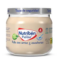 Nutribén Potitos Introducción al Pollo con Arroz y Zanahoria 120 g buzo farmcia