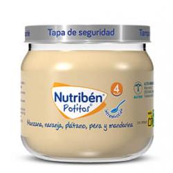 Nutribén Potitios Introducción a la Manzana, Naranja, Plátano, Pera y Mandarina 120 g