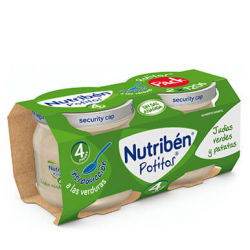 Nutribén Potitos Introducción a las Judías verdes y Patatas (Bipack) 2 x 120 g