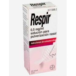 Respir 0.5 mg/mL solución para pulverización nasal