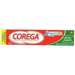 Corega extra fuerte 75gr crema buzo farmacia