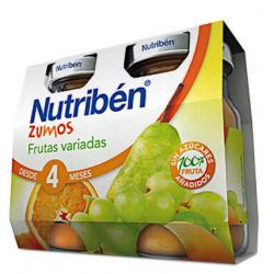 Nutribén Zumos Frutas Variadas 2 x 130 ml buzo farmacia