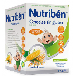 Nutribén Cereales sin Gluten 600 g buzo farmacia