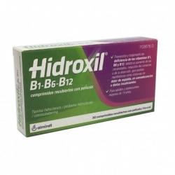 Hidroxil B1-B6-B12  30 comprimidos recubiertos de película