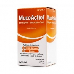MUCOACTIOL MUCOLITICO ADULTO 50 MG/ ML SOLU 200 ML