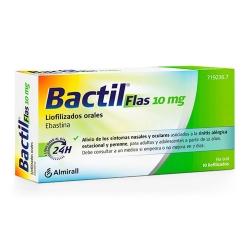 Bactil Flas 10 mg 10 liofilizados orales