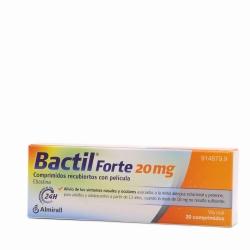 Bactil Forte 20 mg 20 comprimidos recubiertos con película