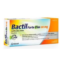 Bactil Forte Flas 20mg 10 liofilizados orales