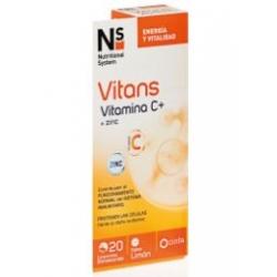 Ns vitans vitamina c comprimidos efervescentes