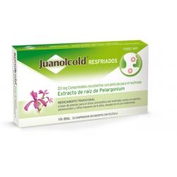 Juanolcold Resfriados 20mg 30 comprimidos recubiertos de película