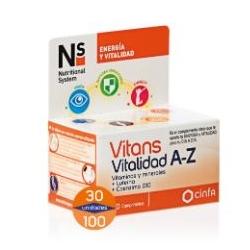 Ns vitans vitalidad a-z 30 comprimidos Buzo farmacias