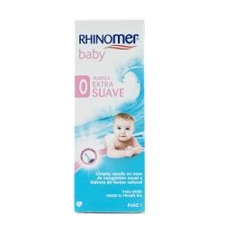 Rhinomer baby limpieza nasal f-extra suave esteril nebulizador