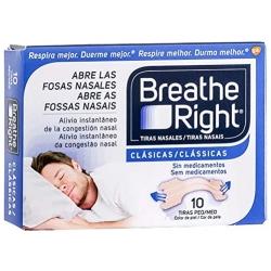 Tiras nasales breathe right peq 10 u
