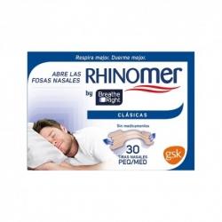 Breathe right tira nasal t-peq-med 30u