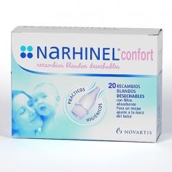 Narhinel confort aspirador nasal 1u+2reca