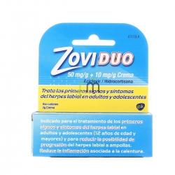 Zoviduo 50/10mg/g crema tubo 2gr