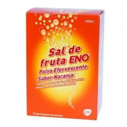 Sal de fruta eno naranja 5g 10 sobres
