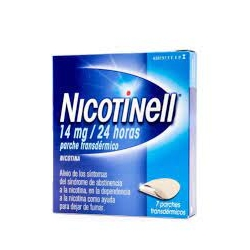 Nicotinell 14mg/24 h 7parches transdermicos 35mg