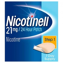 Nicotinell 21mg/24 h 7 parches transdernmicos 52.5 mg
