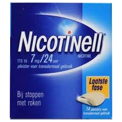 Nicotinell 7mg/24 horas 14 parches transdermicos