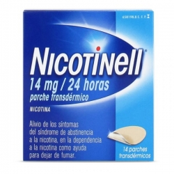 Nicotinell 14mg/24h 14 parches transdermicos