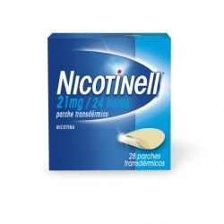 Nicotinell 21mg/24h 28parches transdermicos 52.5mg