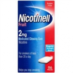 Nicotinell fruit 2mg 96 chicles recubiertos