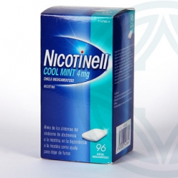 Nicotinell cool mint 4mg 96 chicles medicamentosos