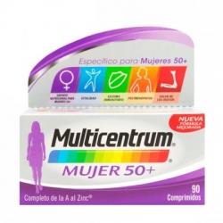 Multicentrum mujer 50+ 90comp