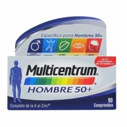 Multicentrum hombre 50+ 90 comprimidos