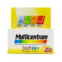 Multicentrum junior 30 comp frambuesa/limon